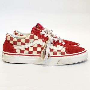 Vans Primary Check Old Skool Unisex sneakers sz 8